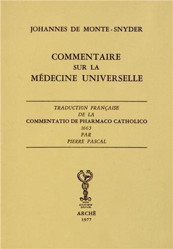 Commentaire sur la médecine Universitaire