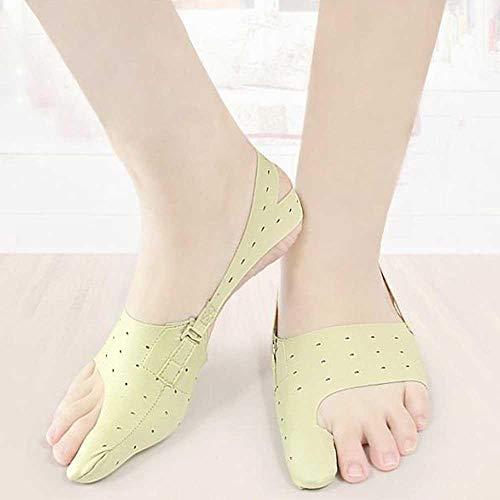 Kobwa elastico alluce valgo correttore, facile da indossare in misto big foot ossa toe treat dolore alluce valgo separatore hammer toe scarpe (s) m