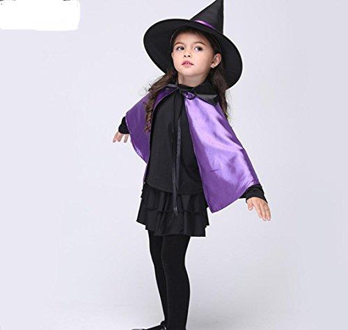 Kinder Tanz Kostüm Festival Performance Kostüm Tanz Kostüm Wettbewerb Halloween Kostüm Schwarz, s