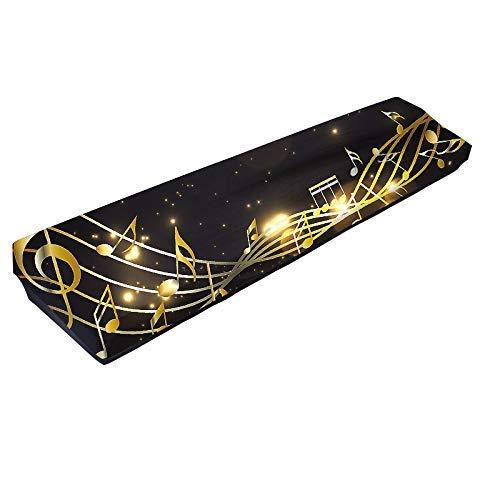 88 Tasten Klaviertastatur-Abdeckung, dehnbar, 61 Tasten, Klavierschutz, staubdicht, verstellbar, elektrisch/digitales Klavier, dehnbare Schutztastatur
