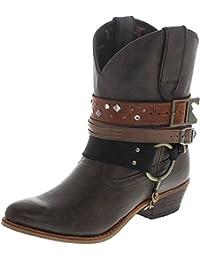 FB Fashion BootsDrd0121 - Botas De Vaquero Mujer