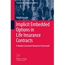 Implicit Embedded Options in Life Insurance Contracts: A Market Consistent Valuation Framework (Contributions to Management Science)