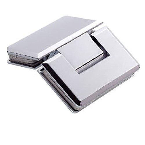 Di Vapor (R) 135° Glas zu Glas Dusche Tür Scharnier | verchromt | Verjüngung (Tür Nicht Glas Dusche)