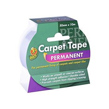 Duck Carpet Tape 50 Mm X 10 M Amazon Co Uk Diy Amp Tools
