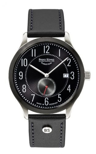 Bruno Söhnle Herren Analog Quarz Uhr mit Leder Armband 17-73181-720