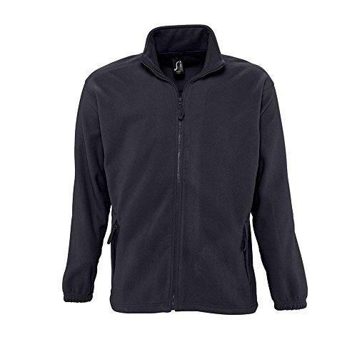 Sols Fleecejacke Fleece Jacke North bis Gr. 5XL ,Charcoal Grey, XXL (Fleece-jacke Frau)