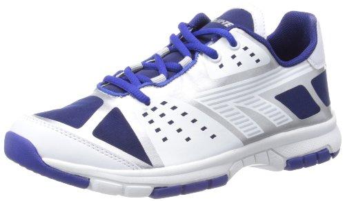 Hi-Tec  Ascent XT,  Herren Laufschuhe Multicolore - White/Navy/Silver