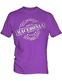 Made In Macedonia - Mens T-Shirt T Shirt Tee Top