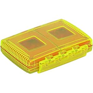 Gepe 3863 4cartes logement pour carte mémoire - Logements pour cartes mémoire (4 cartes, CF, MMC, Clé USB (MS), SD, SmartMedia, Résistant aux collisions, Résistant à la poussière, Résistant aux chocs, 99 mm, 77 mm, 24 mm)