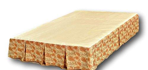 Tache Home Fashion Bett Rock, Twin - Bedskirt Licht