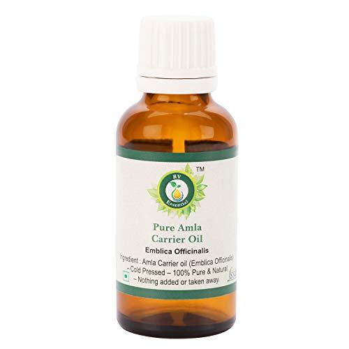 R V Essential Reines Amla Öl 50ml (1.69 Unzen) - Emblica Officinalis (100% reine und natürliche seltene Herb Series) Pure Amla Oil -