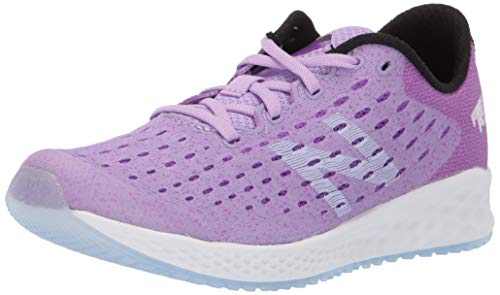 New Balance Fresh Foam Zante Pursuit, Zapatillas Deportivas para Interior Unisex Niños, Morado (Dark Violet GLO/Black Vivid), 40 EU