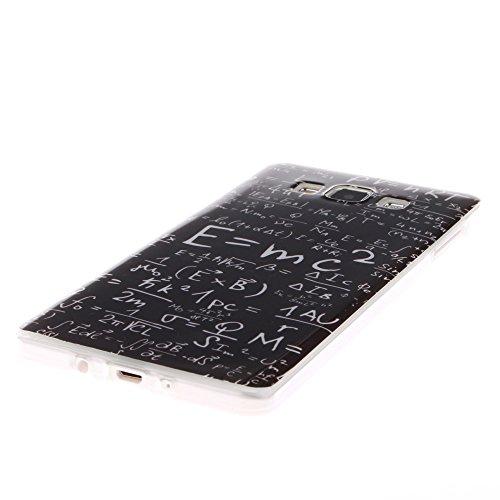 Samsung Galaxy A5 2015 hülle MCHSHOP Ultra Slim Skin Gel TPU hülle weiche Silicone Silikon Schutzhülle Case für Samsung Galaxy A5 - 1 Kostenlose Stylus (Campanula Tanzen mit Feder in rosa Himmel(Campa Das Gesetz der Schwerkraft (The law of gravity)