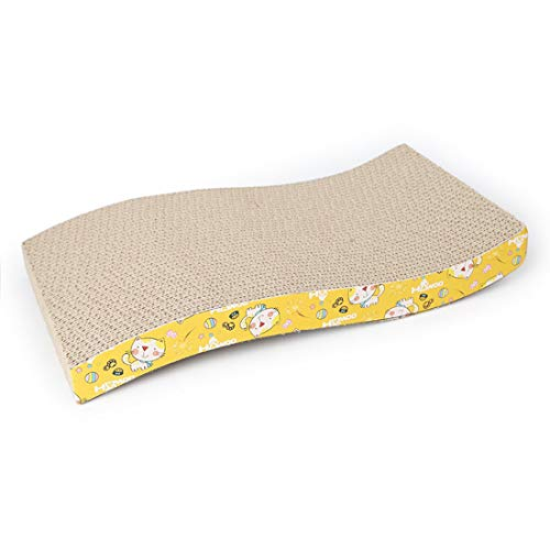 LiShihuan - Esterilla de cartón Corrugado para uñas de Gato