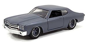 Jada 1:32 Fast & Furious 7 1976 Chevelle - Gris - JA97379