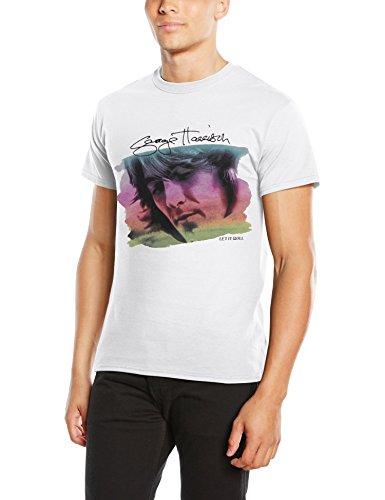 George Harrison - Water Colour Portrait, T-shirt da uomo, bianco (white), S