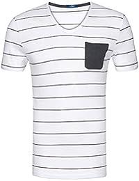 TOM TAILOR Messieurs T-shirt 100 % coton