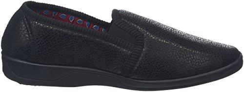 Dunlop Alain, Pantofole Uomo Nero (Nero)