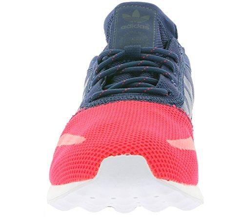 adidas Herren Los Angeles Sneakers, Blau Neon Blau Neon