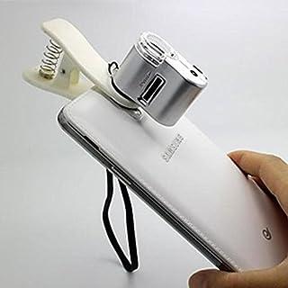 RDJM 63x mené tête lumière et aux rayons UV grossissement microscope pour iphone/ipad et autre téléphone portable