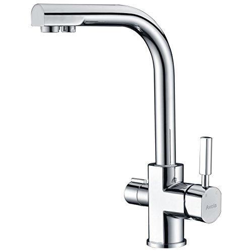 Preisvergleich Produktbild AVOLA Küche Spüle Armaturen tl1529 chrome