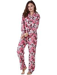 37b8fd0923 Conjunto de pijama para mujer - Forro polar - Estampado