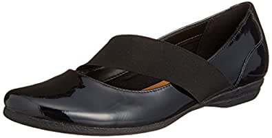 a6be95872 Clarks Womens Discovery Ritz Black Patent Leather Smart Shoes ...