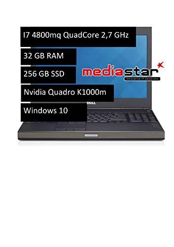 DELL Precision M4800 - notebooks (i7-4910MQ, 0 - 40 °C, -40 - 65 °C, 10 - 90%, 5 - 95%, 0 - 10668 m) (Ricondizionato)