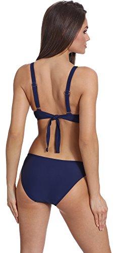 Verano Damen Bikini Set Lilian Navy/Lemon