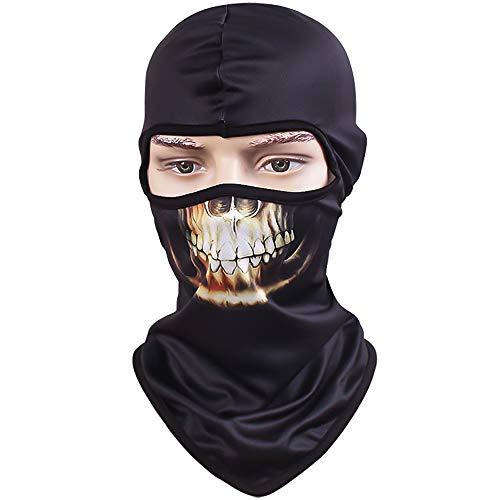 sempre popolare calzature più recente TClian maschera con teschio, passamontagna, bandana con scheletro ...