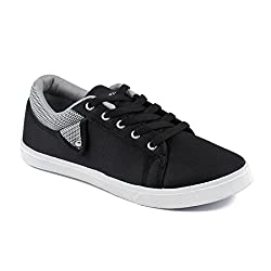 Asian shoes CYBER-95 Black Grey Men Casual Shoes 7UK/Indian