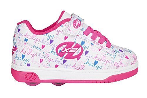 Preisvergleich Produktbild Heelys Dual Up X2 Schuhe – Weiß / Pink / Multi