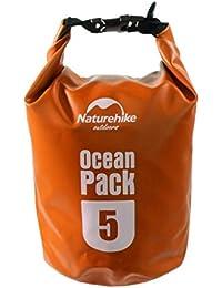 VMORE Ocean Pack 5 Liter Waterproof Dry Bag Camping Swimming Bag (Orange)