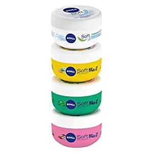 Nivea Soft Mix It Set Multi Pack Crema, 4 Confezioni da 100 ml