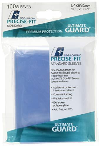 Ultimate Guard UGD010478 - Precise-Fit Sleeves Side-Loading Standardgröße 100, transparent -