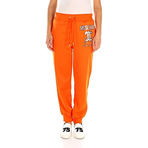 030141271125 Moschino Pantaloni Donna Poliestere Arancio