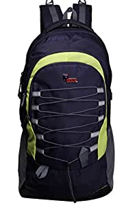 F Gear EliXer V2 Polyester 50 Ltrs Blue Trekking Backpack (2538)