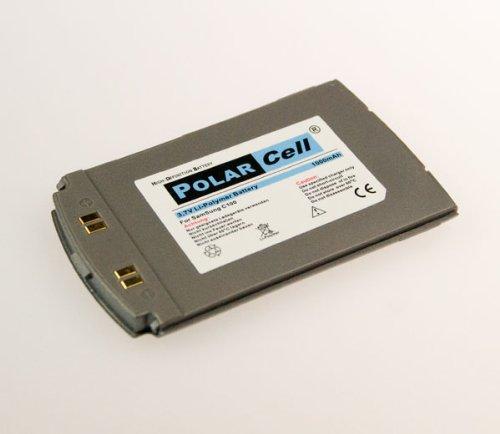 NFE² Edition Polarcell Lithium-Polymer Akku - 1000mAh - für Samsung SGH-C100 silber