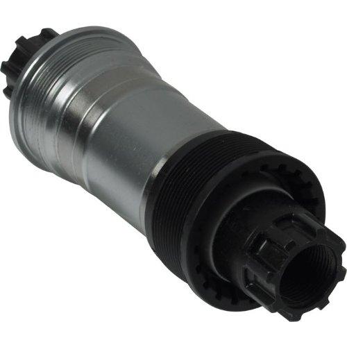 Shimano BB-ES51 Innenlager 73mm BSA ohne Kurbelschrauben (Länge: 118 mm) schwarz schwarz 68-118 mm