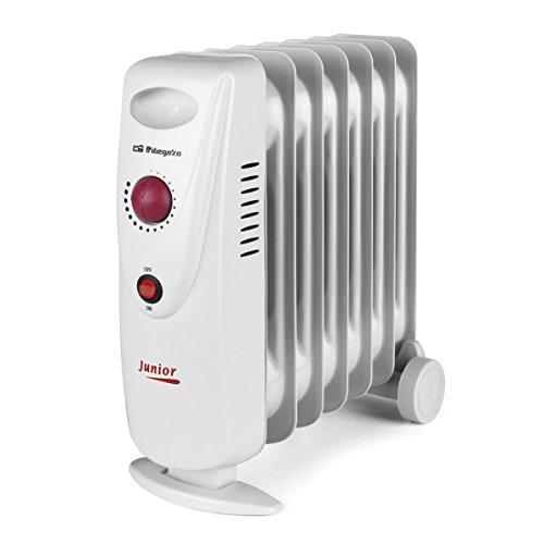 Orbegozo RO 1010 C Radiador de Aceite Mini, Potencia de 1000 W, Construcción Modular y Diseño Compacto...