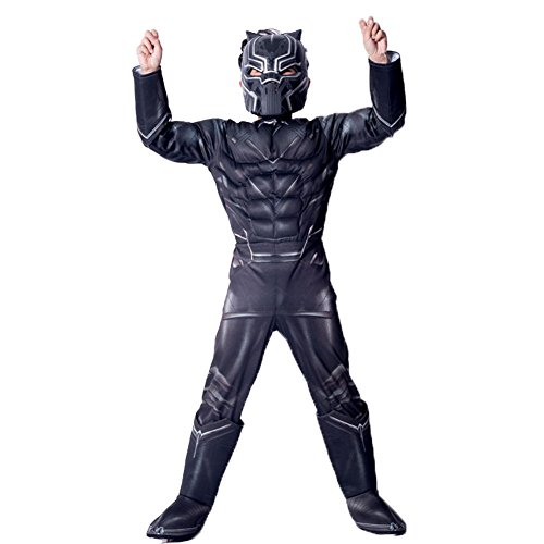 play Kostüm Black Panther Cartoon Marvel Comic Mottoparty Halloween Karneval ()
