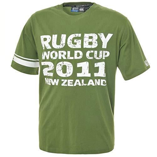 CCC Rugby World Cup 2011 Captain's T-Shirt [Green] - Medium - Captain Green T-shirt