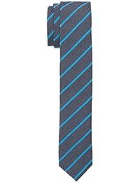 Calvin Klein Trend Slim 5 cm, Corbata para Hombre, Azul (Aqua), Talla Única (Talla del Fabricante: OS)