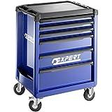 Stanley Expert–Carro 6Cajones 3módulos por cajón azul–e010192