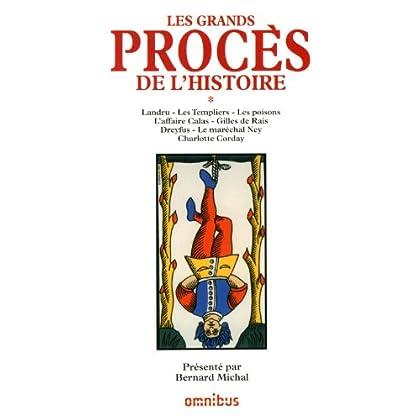 GRANDS PROCES HISTOIRE T01