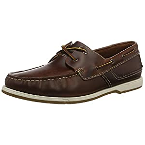 Clarks Herren Fulmen Row Bootsschuhe