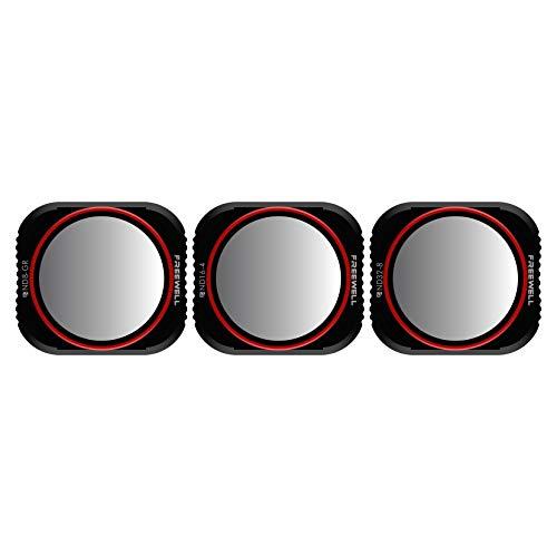 Freewell Landscape Gradient - 4 K Series - 3 Unidades ND8-GR, ND16 - 4, ND32 - 8 Filtros de Lente de cámara Compatible con dji Mavic 2 Pro Drone