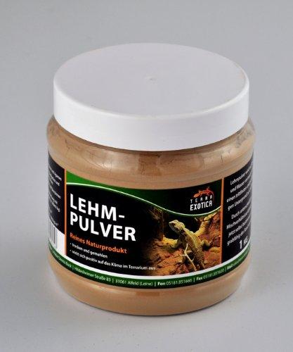 Lehmpulver - braun 1 kg in Dose