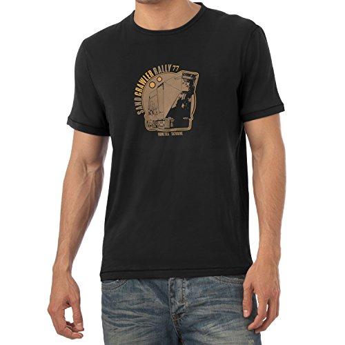 TEXLAB - Sand Crawler Rally - Herren T-Shirt Schwarz