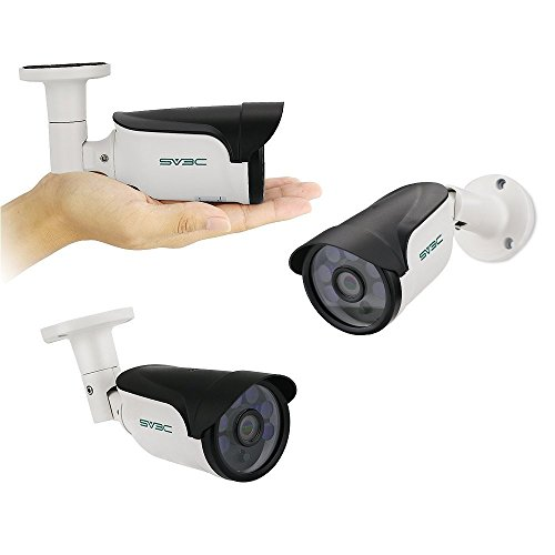 SV3C 1080P PoE IP Kamera/HD Sicherheitskamera für Außen/IP Überwachungskamera/IP cam mit LAN & PoE 802.3af für Outdoor - 3